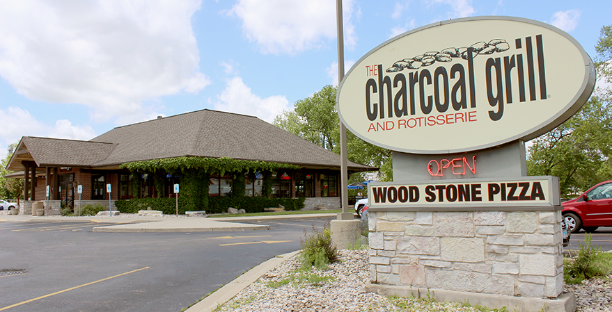 Charcoal Grill Burlington Location