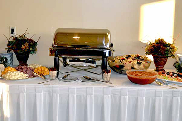 Charcoal Grill & Rotisserie Catering & Banquet - Burlington Veteran's Terrace Location
