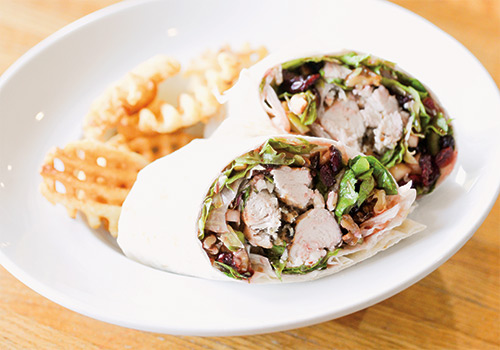 Wisconsin Harvest Wrap with Wood Grilled Chicken
